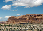 Title: A Typical Red Rock Bluff