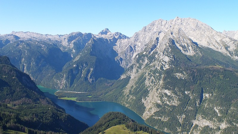 view of the lake k�nigssee