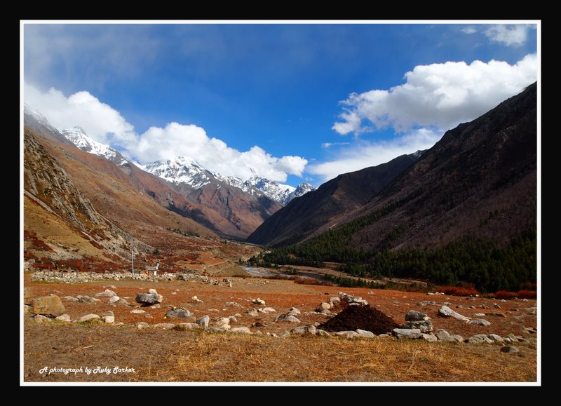 Chhitkul... the last village of India