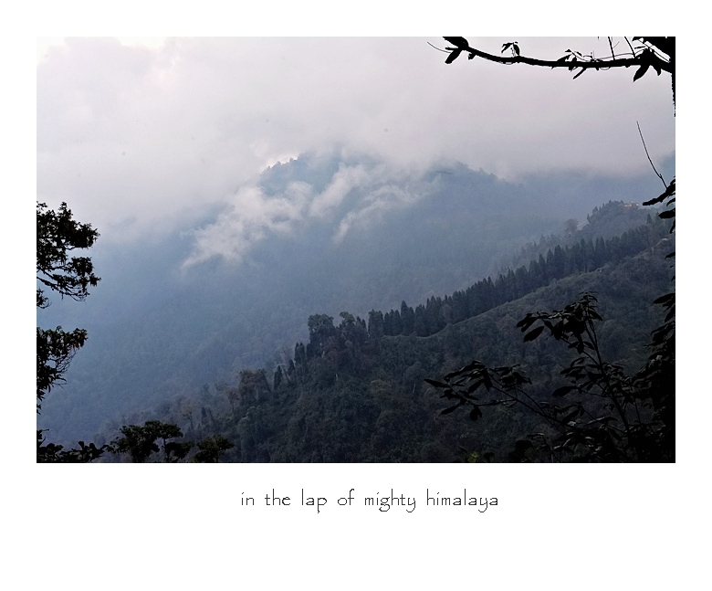 In The Lap Of Mighty Himalaya