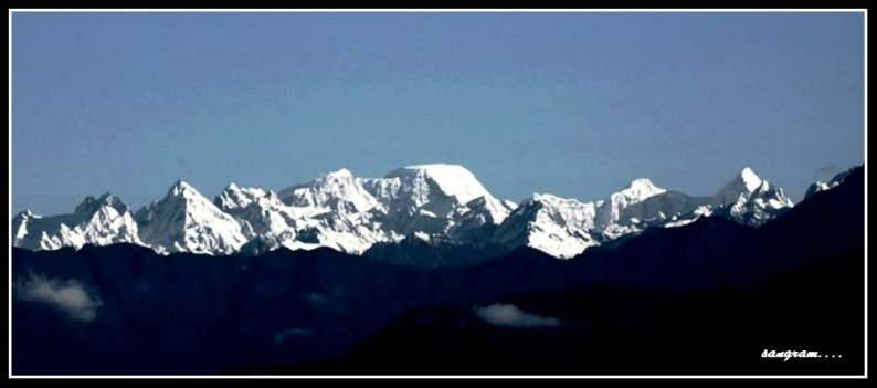 part of kanchenzungha range