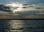 Title: Kempenfelt Bay Sunset