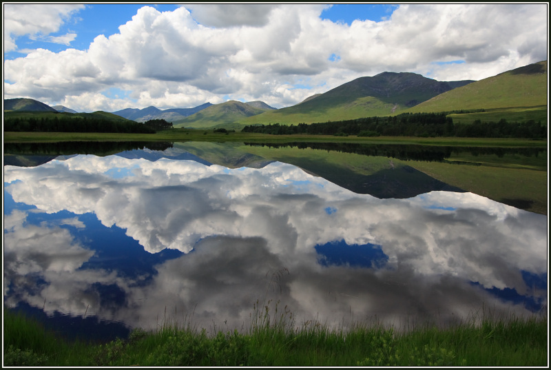 Loch Tulla Reflections in Summer