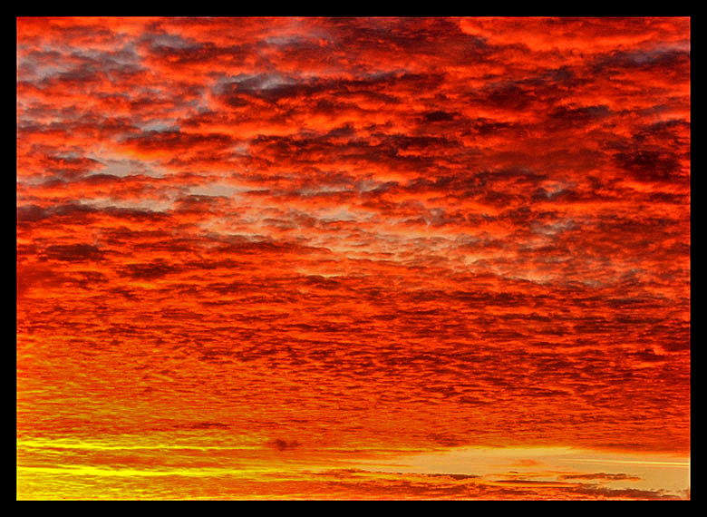 Red Sky In The Morning ...