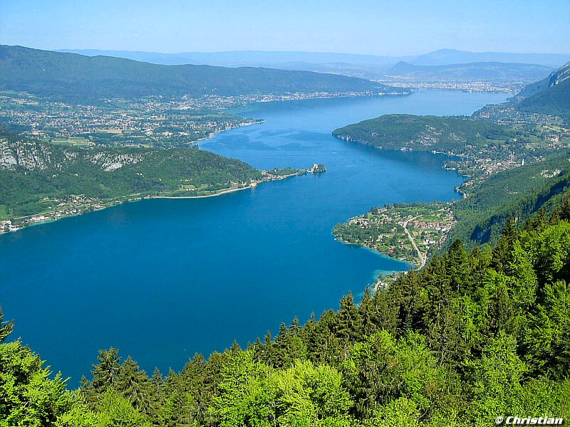 Annecy lake