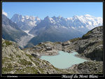 Title: Mont-Blanc 4808m in Alps