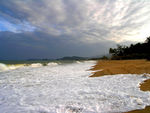 Title: Stormy weather  over Vietnam