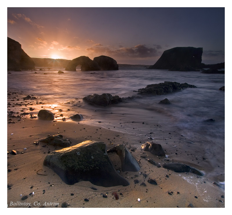 Ballintoy after the storm