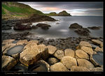 Title: Giants Causeway Hexagon basalts
