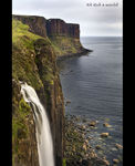 Title: Kilt Rock & waterfall