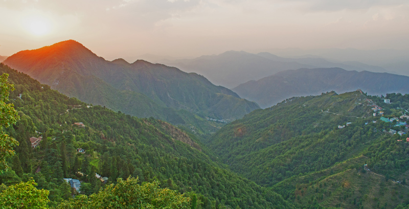 The Hills of Mussoorie