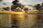 Title: Sunset in Maldives