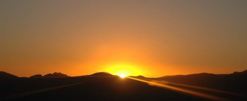 Andes Sunset