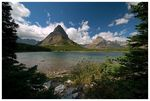Title: Swiftcurrent lake vista