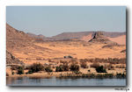 Title: The banks of the Lake Nasser