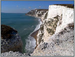Title: white cliffs of dorset