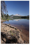 Title: South Sister at Sparks Lake