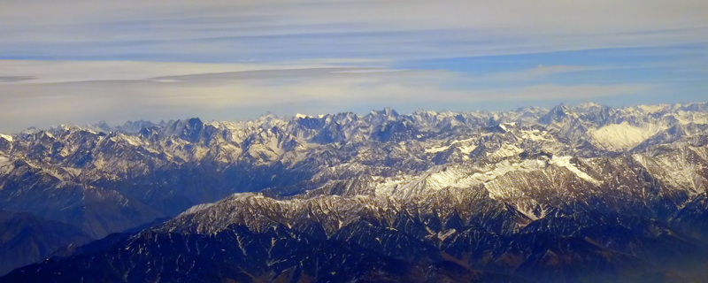 Himalayas in Winter