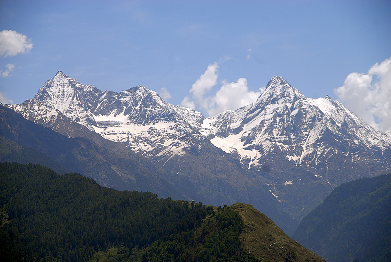 Peaks from My Native Place