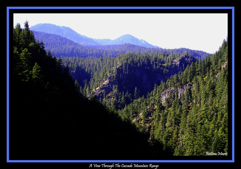 A View Of The Cascade Mountains