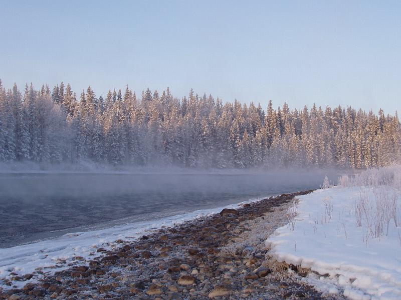 MIST ON THE RIVER