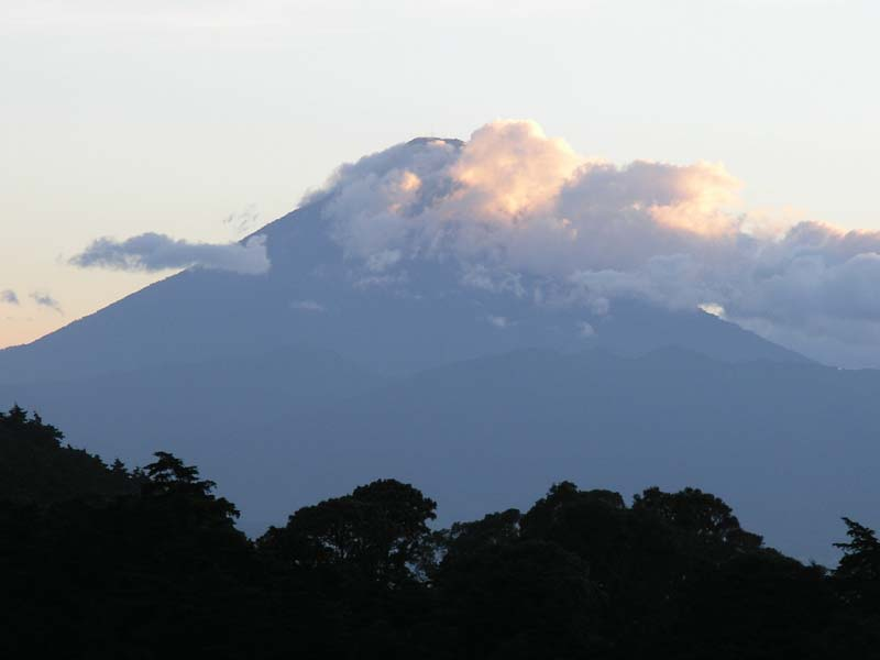 Volcan Agua at Sunset