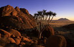 Title: sunset in namibia