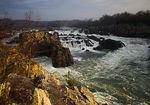 Title: Dawn at Great Falls