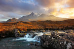 Title: Sligachan sunset