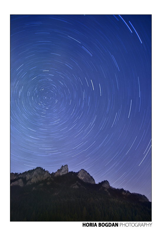 Three Crowns startrails