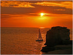 Title: Sail Into The Sunset