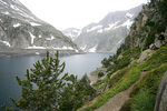 Title: Lake in the Pyrenees