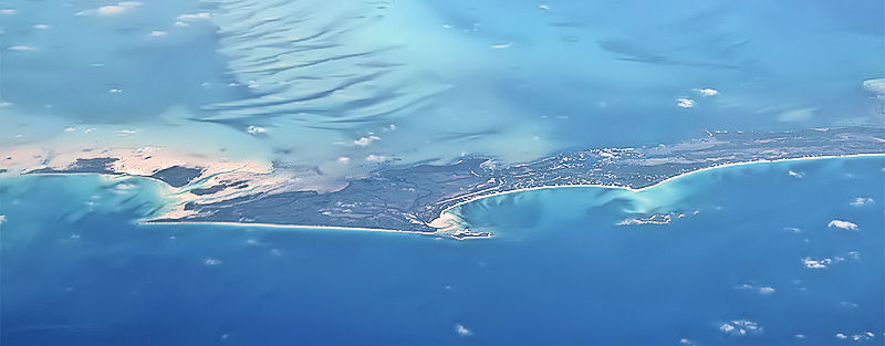 Aerial view of Berry Island