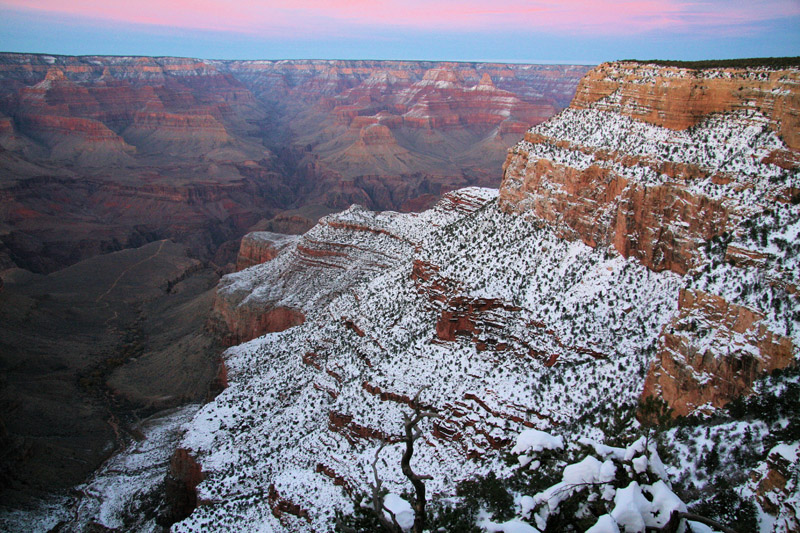 Merry Christmas from The Grand Canyon