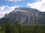 Title: Mount Rundle