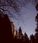Title: First Light on El Capitan