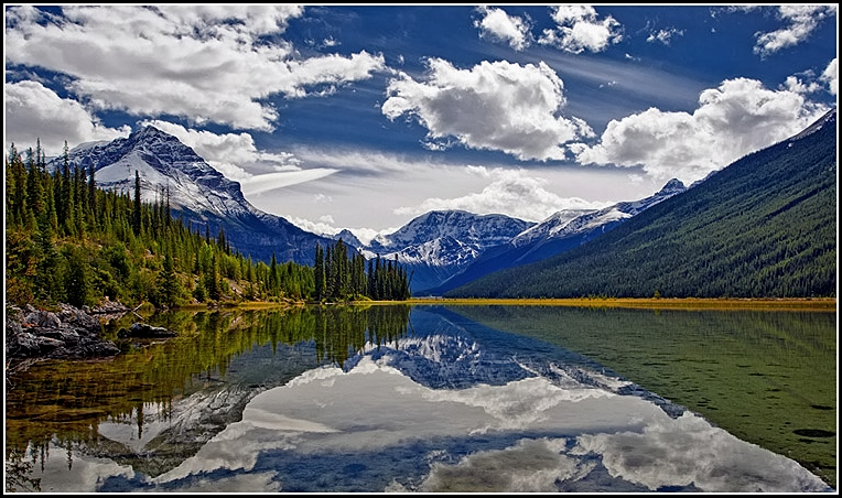 Icefield Parkway Reflection