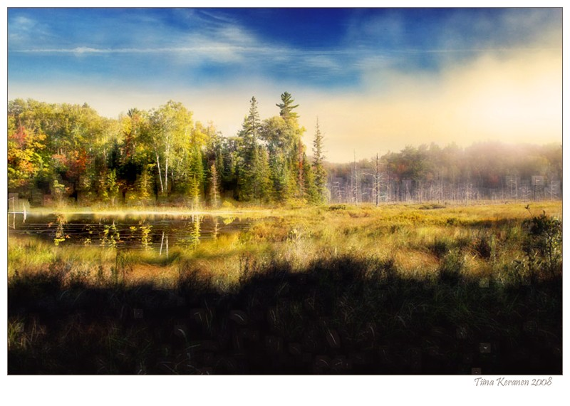 A Morning in Northern Ontario