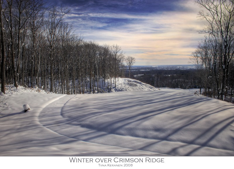 Winter at Crimson Ridge