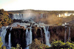 Title: Evening over Iguazu