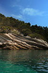 Title: Coast in French riviera