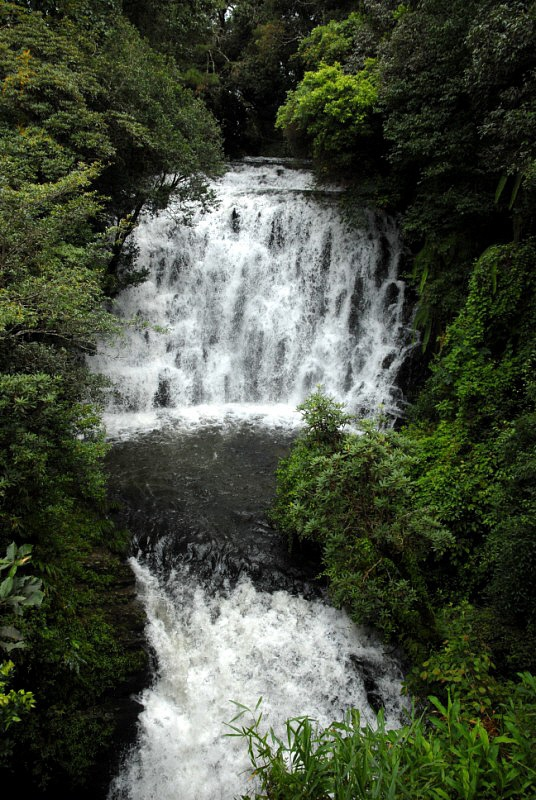 The Elephant Falls: Three-Tier Waterfall