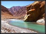 Title: Colored Mountains of Ladakh