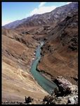 Title: View of Indus, Leh
