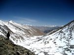Title: Highest Motorable Road View from 18380'