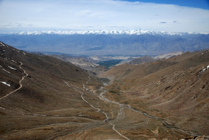 Leh Valley: An Aerial View from K'Top
