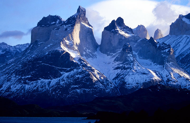Early Light on the Cuernos del Paine