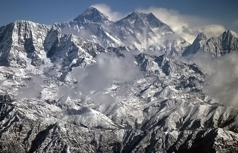 Mt Everest - One I Took Earlier!