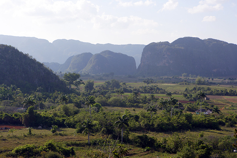 Mogotes in the Vinales Valley