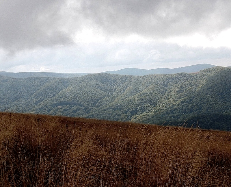 Bieszczady Mountains in October